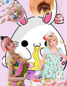 Kawaii style, todo alegría y color.
