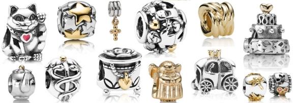 Oro y plata en Pandora.
