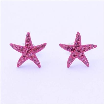 Estrellas de mar hot pink.