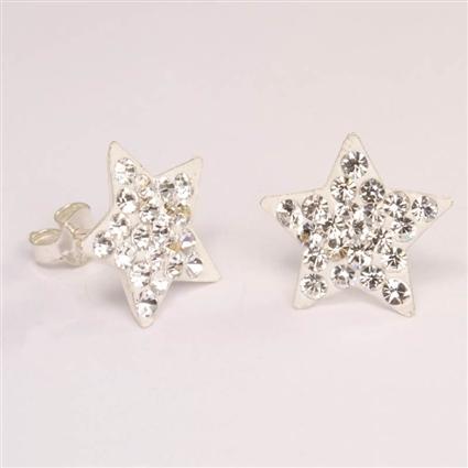 Discretas y elegantes estrellas blancas.