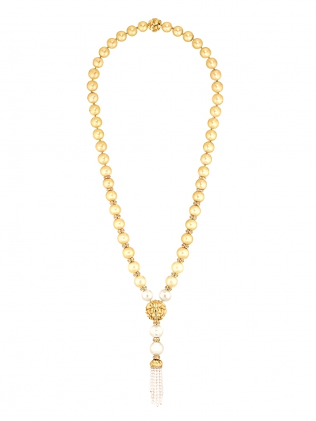 Chanel-Les-Perles-de-Chanel-Lion-Gold-Necklace