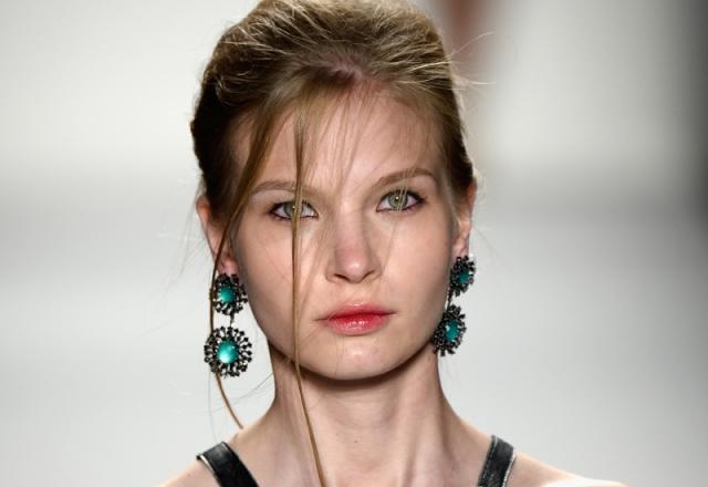 Katya Leonovich - Runway - Mercedes-Benz Fashion Week Spring 2014