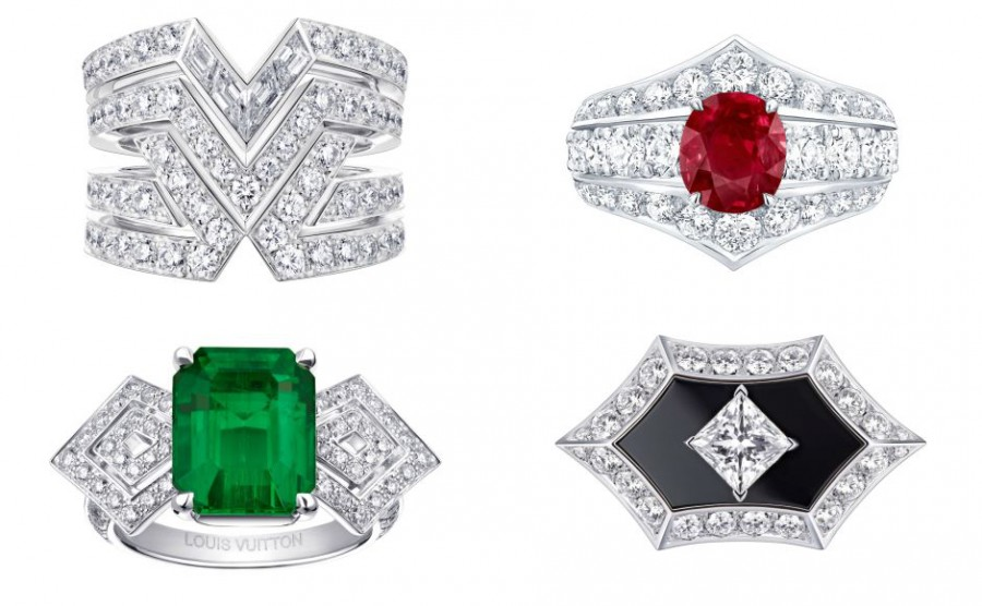LV rings Collage